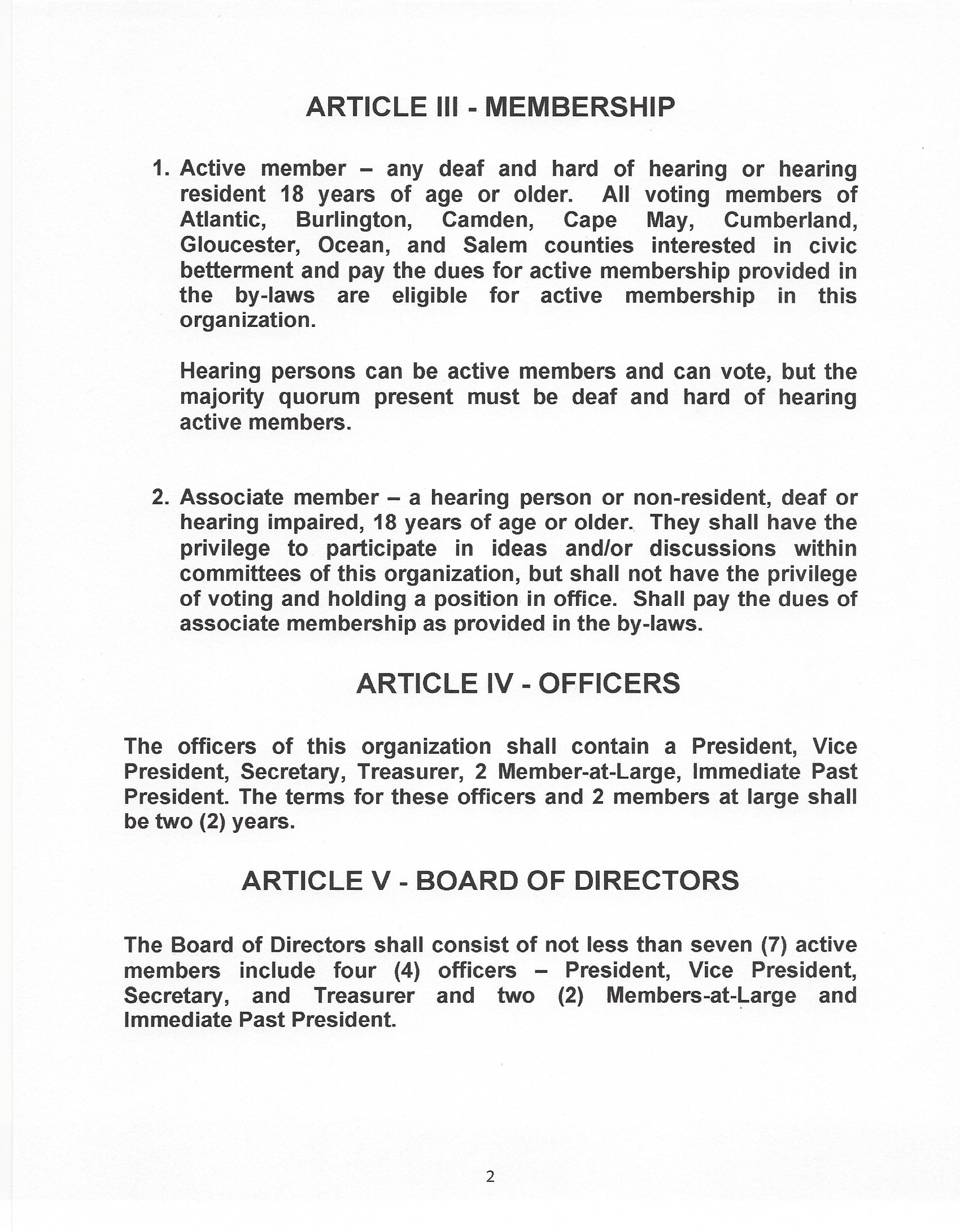 ACSD Bylaw 2 page